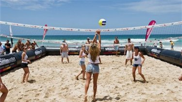 Amateur and elite volleyball will be on show at Scarborough Beach.
