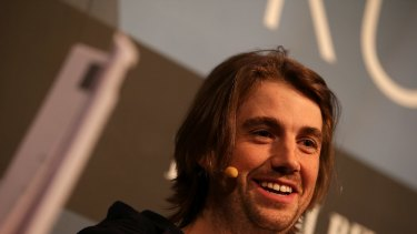 Innovative: Atlassian co-founder Mike Cannon-Brookes.