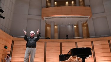 """Conductor Richard Gill: """"I just want to encourage the idea of singing."""""""