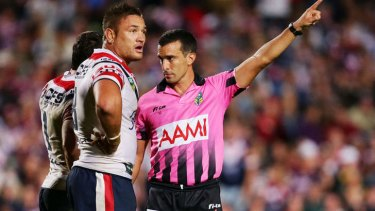 Banned: Jared Waerea-Hargreaves of the Roosters.