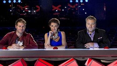 Audience favourite ... <i>Australia's Got Talent</i> judges Brian McFadden, Dannii Minogue and Kyle Sandilands.