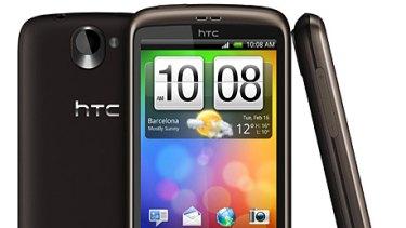 HTC Desire.