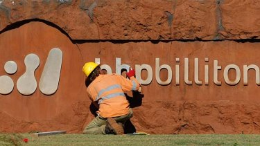 BHP Billiton and other miners are making less use of contract operators.