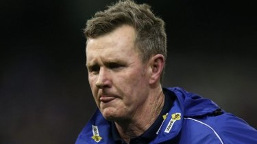Brendan McCartney has parted ways with the Western Bulldogs.
