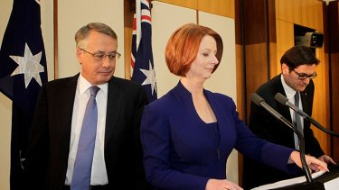 Julia Gillard has defended the limited compensation, saying there is 'no money tree'.