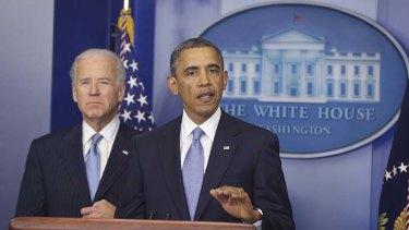 US President Barack Obama  ... promised he would not negotiate over the debt ceiling.