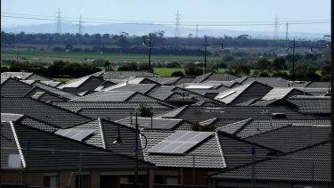 Tarneit, on Melbourne's western fringe, has embraced solar power.