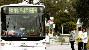 The bus tracking system was meant to allow passengers to track the real-time movements of Melbourne's buses.