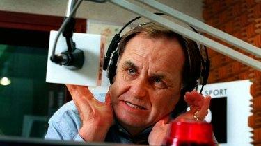 Sacked: Radio presenter Howard Sattler.