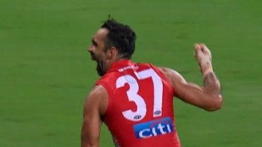 The AFL's most senior indigenous official has encouraged indigenous players from all 18 clubs to perform the Adam Goodes' war dance next weekend.