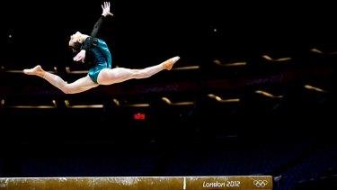 A sport that demands extreme discipline ... Lauren Mitchell.