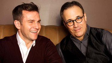 Divergent careers: David Campbell and composer John Bucchino.