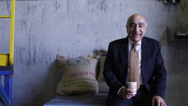 Winning brew ... Nabi Saleh thrives in the coffee business.