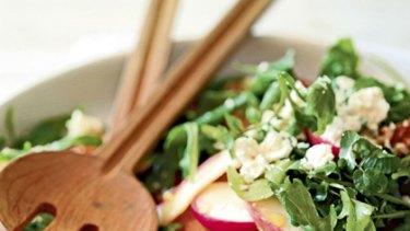 Salad daze ... study finds no evidence that fruits and vegetables ward off cancer.