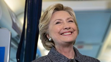 Democratic presidential candidate Hillary Clinton has engaged in some after midnight snark.