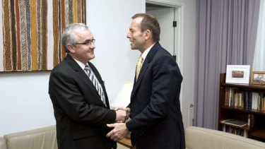 A humane asylum-seeker policy is paramount to Andrew Wilkie, who held talks with Tony Abbott yesterday.