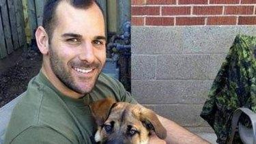 Shot dead: Corporal Nathan Cirillo.