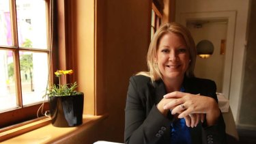 Survivor ... Jodie Nolan, a former financial adviser for Storm Financial, now has a new project.