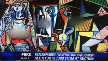 Blurred lines: The Fox News treatment of Picasso's <i>The Women of Algiers. </i>