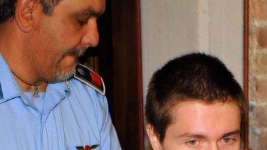 Verdict overturned ... Raffaele Sollicito.