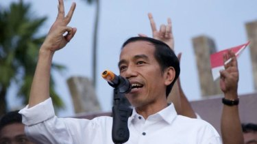 Ready and waiting: Joko Widido, President-elect of Indonesia will be sworn in on October 20.