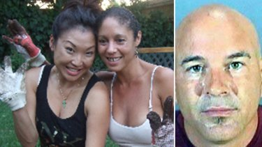 Beaten and suffocated ... Felicia Tang Lee (far left) was allegedly killed by boyfriend Brian Lee Randone (far right).