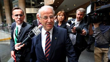 """""""I'll put him on"""": Labor powerbroker Eddie Obeid is reported to have helped kickstart Richard Torbay's political career."""