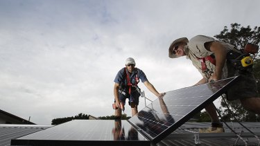 More than 65,000 household solar panels have been installed since the scheme started in 2009.