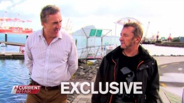 Phil Rudd on <i>A Current Affair</i> talking about his hopes of rejoining AC/DC.