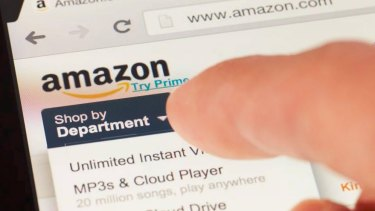 The uptake of online shopping will double after Amazon arrives, UBS says.