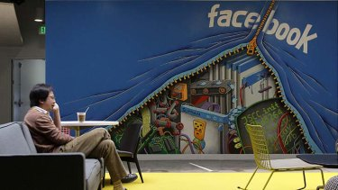 Clock is ticking ... Facebook's share price is heading south.