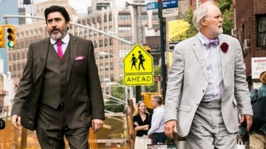 Great to have them back on screen: Alfred Molina and John Lithgow in <i>Love Is Strange</i>.