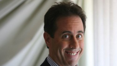 Ad campaign ... Comedian Jerry Seinfeld will appear in a series of commercials for Newcastle's Greater Building Society.