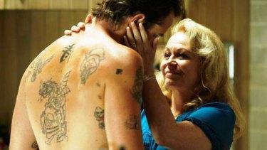 Jacki Weaver and Sullivan Stapleton in <i>Animal Kingdom</i>.