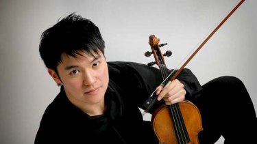 Ray Chen ... accolades for the beauty of his playing.