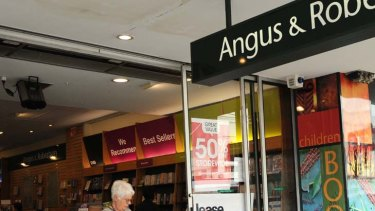 Casualties ... 42 Angus & Robertson stores to close.