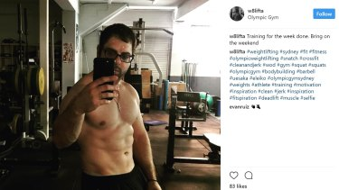 Weightlifter Con Vasiliades was a Liberal councillor in Canterbury. The home and office of his father, George, a real estate agent and Commonwealth Games gold medallist, have been searched.