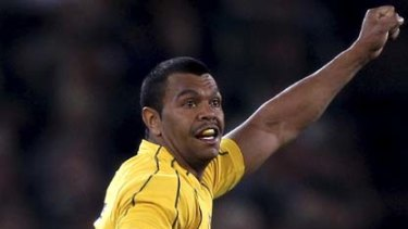 Kurtley Beale ... determined to keep hold of the fullback jersey.