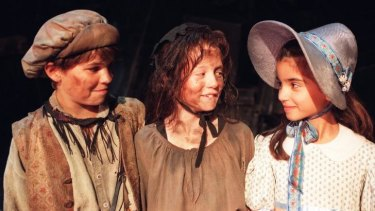 Leighton Picken, Nikki Webster and Stephanie in the  '90s version of <i>Les Mis</i>.
