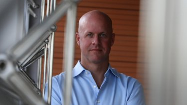 Head of Facebook in Australia Paul Borrud.