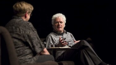 Composer and director Heiner Goebbels in conversation with Robyn Archer at Sydney's Theatre Royal.