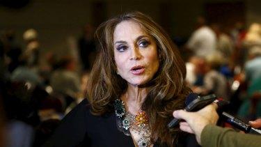 Too much for Fox News? Controversial anti-Muslim figure Pamela Geller in Garland, Texas.