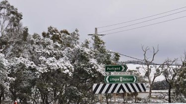 Parts of the Great Western Highway were closed overnight.