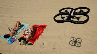 It is feared drones will be used to spy on the public from above.