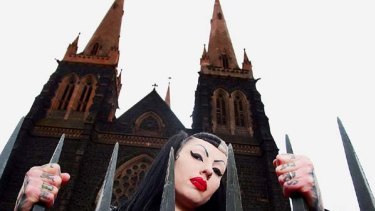 Kriss Poison says she drinks her husband's blood.