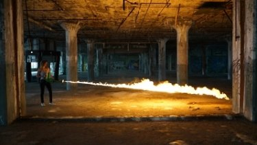 Burnt: Border Force fails to quell import of banned flamethrower