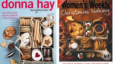 Look similar ... The Australian Women's Weekly has been accused of copying Donna Hay magazine.