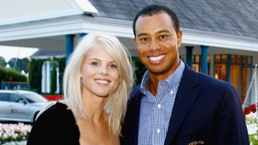 Temporary state of affairs ... Tiger Woods and Elin Nordegren's marriage foundered on adultery allegations.