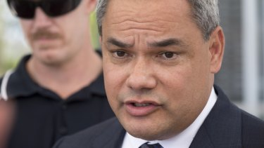 Gold Coast Mayor Tom Tate speaks to media following the Chevron Renaissance incident.