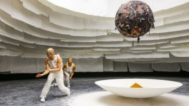 Dancers will move in and out of the installation, performing moves choreographed by Rafael Bonachela.